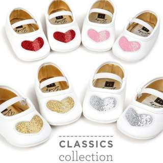 Baby Heart shoes design