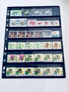 Lot of S'pore Old Stamps