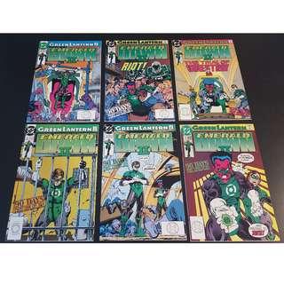 Green Lantern Emerald Dawn II (1991)- Complete Set of 6 Books