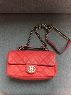CHANEL red bag (Genuine & used)