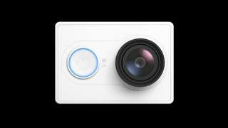 YI 1080P Action Camera White 白色 with waterproof case High-definition 16.0MP 3D Noise Reduction小蟻運動相機  邊玩邊錄邊拍,手機隨時分享 (續航時間提升25分鐘)  超大廣角 1600 萬像素丨運動級高速攝像