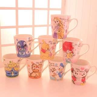 迪士尼水杯 咖啡杯