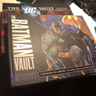 The Batman vault and the dc vault