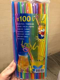 Art Straw Colourful