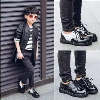 Clearance boys Leather shoes