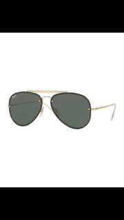 ray ban blaze aviator flash lenses rb3584 brand new full packages