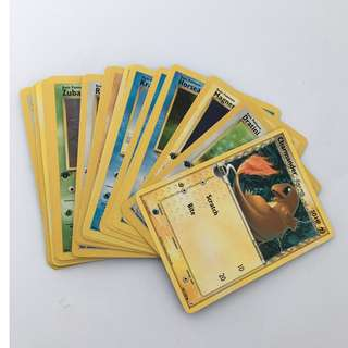 Set of 20 Pokemon Cards
