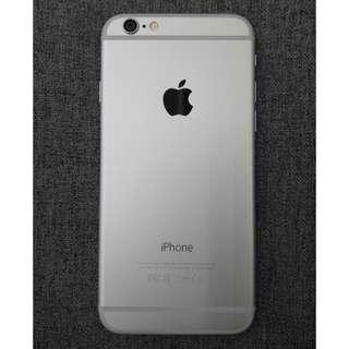 (2手) I Phone 6 64GB 銀色 99%New