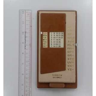 懷舊電話簿 購自英國