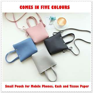 FREE MAILING Small Sling Bag / Mobile Phone Pouch