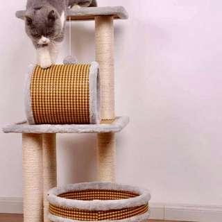 [BN] Bamboo Weave Cat Condo