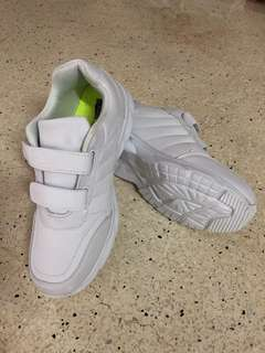 School Bata white shoes