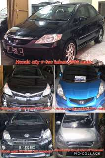 Honda city vtec 2005 matic