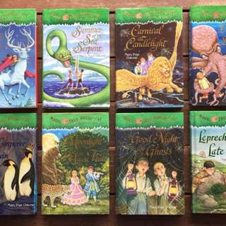 Magic Tree House(hardcover)#29, 31, 33, 39, 40, 41, 42, 43
