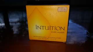 INTUITION BY ESTEE LAUDER   3.4 oz ( 100 ml ) EDP SPRAY  NEW IN BOX    ( 100 % AUTHENTIC )