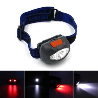 Free mail: LED headlamp headlight
