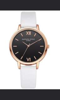 Minimalist Watch - Rose Gold Rim (In stock) #promo