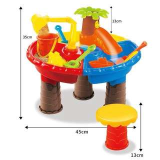 Sand and water table toy
