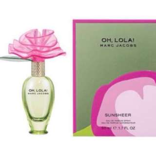 50ml Sunsheer Oh  ola Marc Jacobs 3.