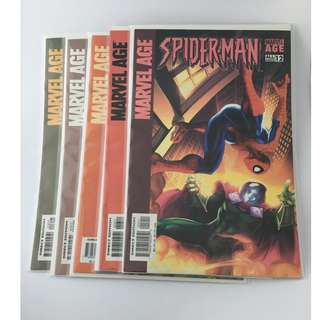 Set of 5 Spider-Man Comics: #12 - #16
