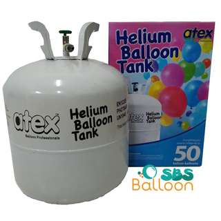 Helium Gas Tank (Disposable)