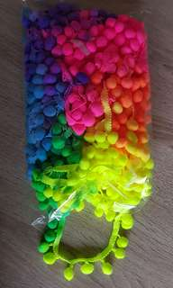 Colorful Laces -18 meter