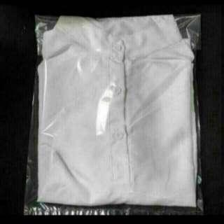 白色3鈕圓領襯衫👚✨全新📮包郵
