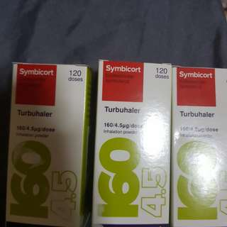 only today till tomorrow. offer 3 for $70symbicort(160) asthma pump