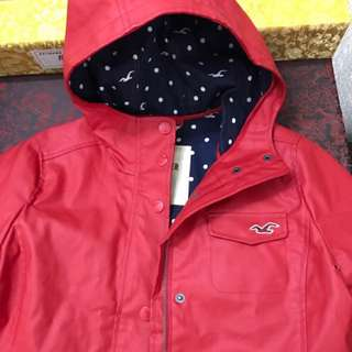 Hollister海鷗防水風衣外套HCO jacket coat A&F