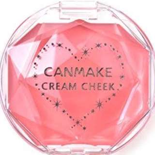 Repriced! Canmake Cream Cheek Blush