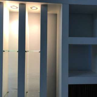 White divider (used) for sale