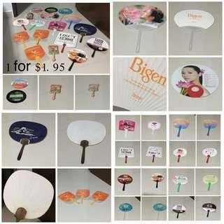 (BN)14 Design Hand (Paper & Plastic)Fan