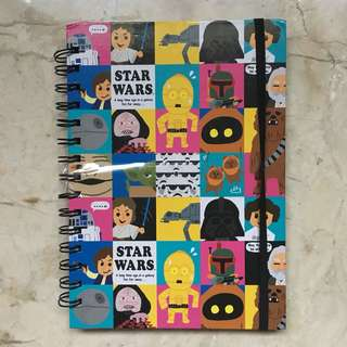 Starwars notebook from Disney