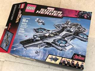 Lego 76042 Marvel Superhero The Shield Helicarrier