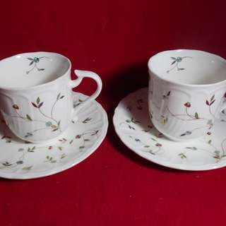 Fine Bone China Tea Cups