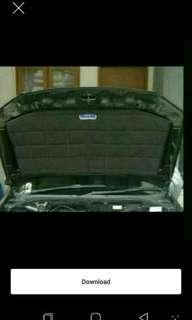 Exlusive peredam panas kap mesin Hyundai Matrix