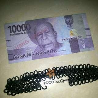 Chocker kalung black lace
