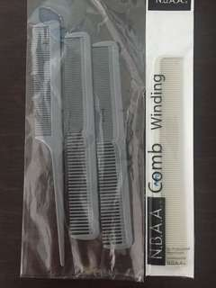 Cutting comb and tail comb
