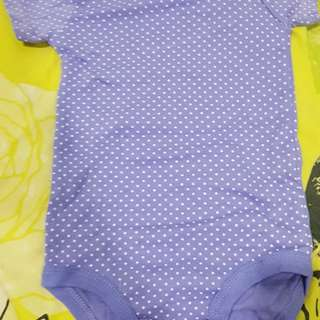 Cotton Rompers new! 12m