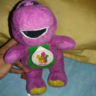 #MakinTebel Barney Mini ori