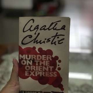 Murder On the Orient Express novel by Agatha Christie