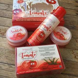 Tomato set by Brilliant Skin Essentials