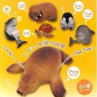🚚 T-ARTS 休眠海洋動物園扭蛋 企鵝