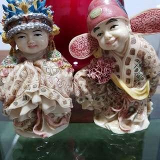 Wedding couple figurines