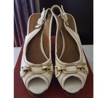 Zara White Platform Shoes
