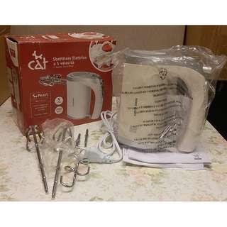 特價出售 廚房電器 Pearl 5 Speeds hand mixer 5速電動攪拌機