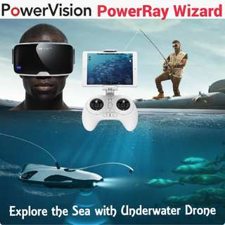 PowerVision PowerRay Underwater Drone / Ready Stock! Local 1 Year Warranty!
