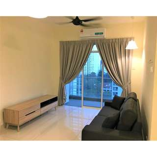 Saville Bangsar South, KL - 1209 Sf, 2 Car Park & Fully Furnished