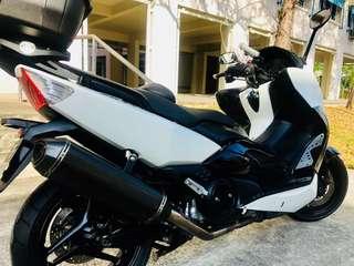 Yamaha T-max 500( Remus full system)