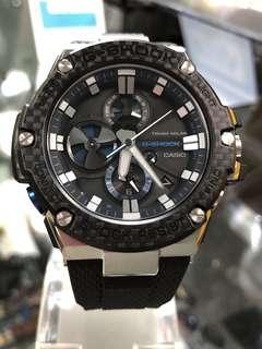 Casio G-Shock G-Steel GST-B100XA-1A gst-b100xa-1a GST-B100XA GST Carbon Fiber 碳纖維